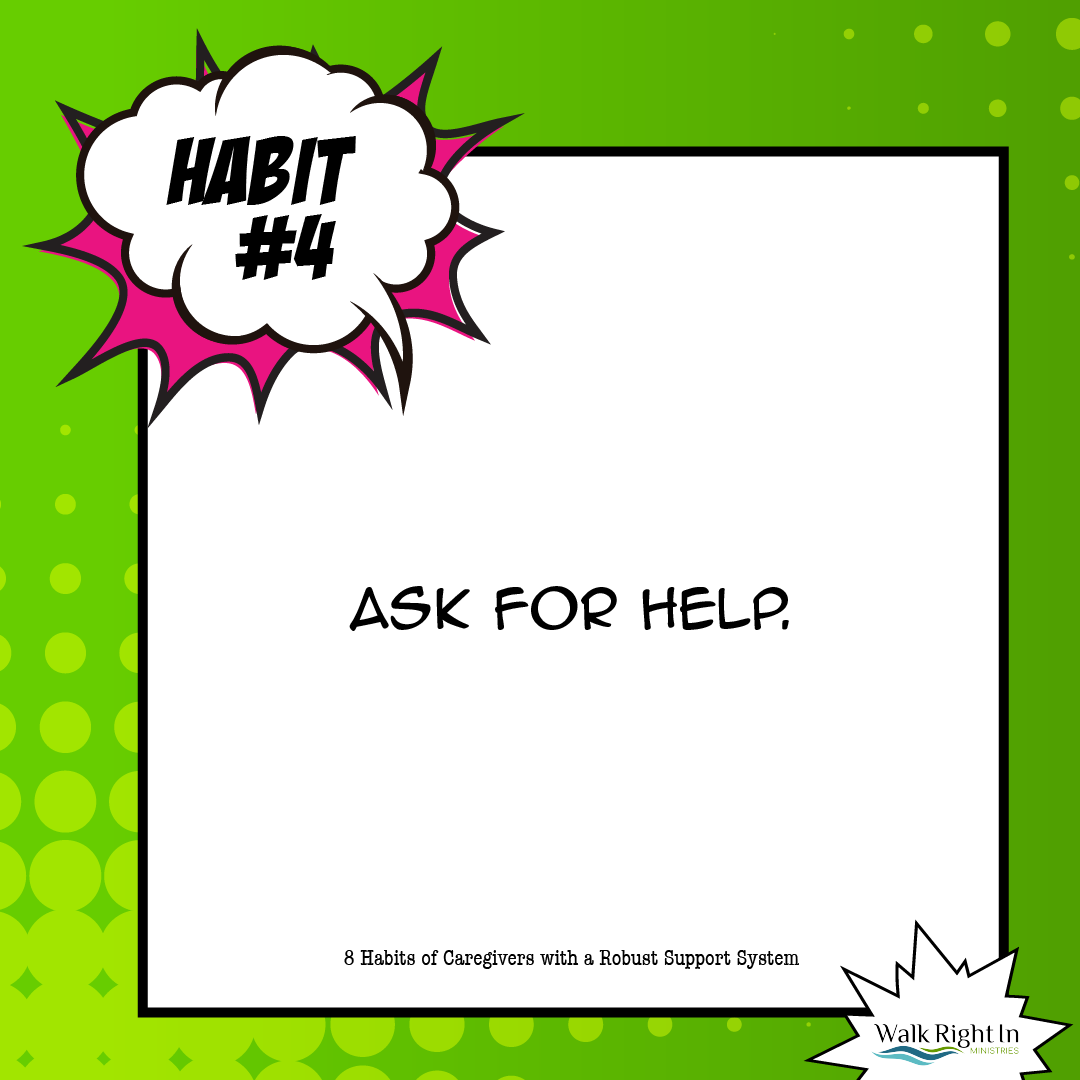 A Robust Support System Requires Asking for Help